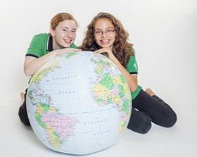 GESS students around a globe