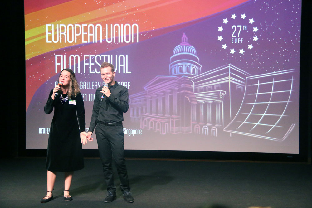 EUFF MCs at the Opening Night