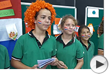 internationall language day at international schools in singapore