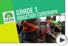 Grade 1 Induction Ceremony 2017